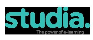 Logo en footer de Studia - Plaforma de e-learning